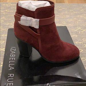 Bordeaux danaisy boots by izabella rue